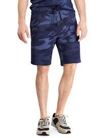 Polo Ralph Lauren Camo Print Double-Knit Active Shorts