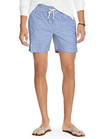Polo Ralph Lauren® Gingham Traveler Swim Trunks