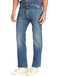 Polo Ralph Lauren Hampton Relaxed Straight-Fit Jeans