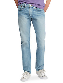 Polo Ralph Lauren® Hampton Relaxed Straight Stretch Jeans – Andrews Wash
