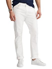 Polo Ralph Lauren® Hampton Relaxed Straight Fit Stretch Jeans