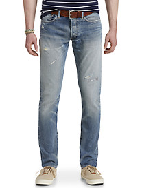 Polo Ralph Lauren® Hampton Relaxed Straight Fit Halstead Wash Jeans