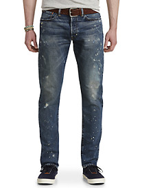 Polo Ralph Lauren® Hampton Relaxed Straight Fit Sawyer Wash Jeans