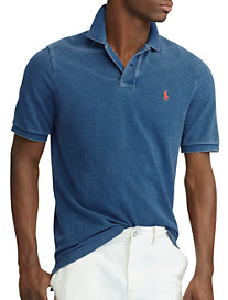 Polo Ralph Lauren® Classic Fit Weathered Mesh Polo Shirt