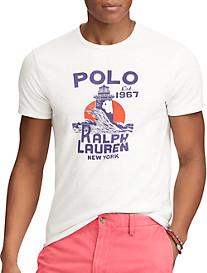 Polo Ralph Lauren Classic-Fit Lighthouse Graphic T-Shirt