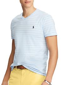 Polo Ralph Lauren® Classic Fit Stripe V-Neck T-Shirt