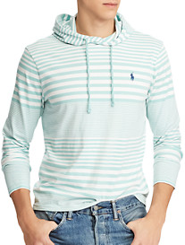 Polo Ralph Lauren® Stripe Hooded Long-Sleeve Tee