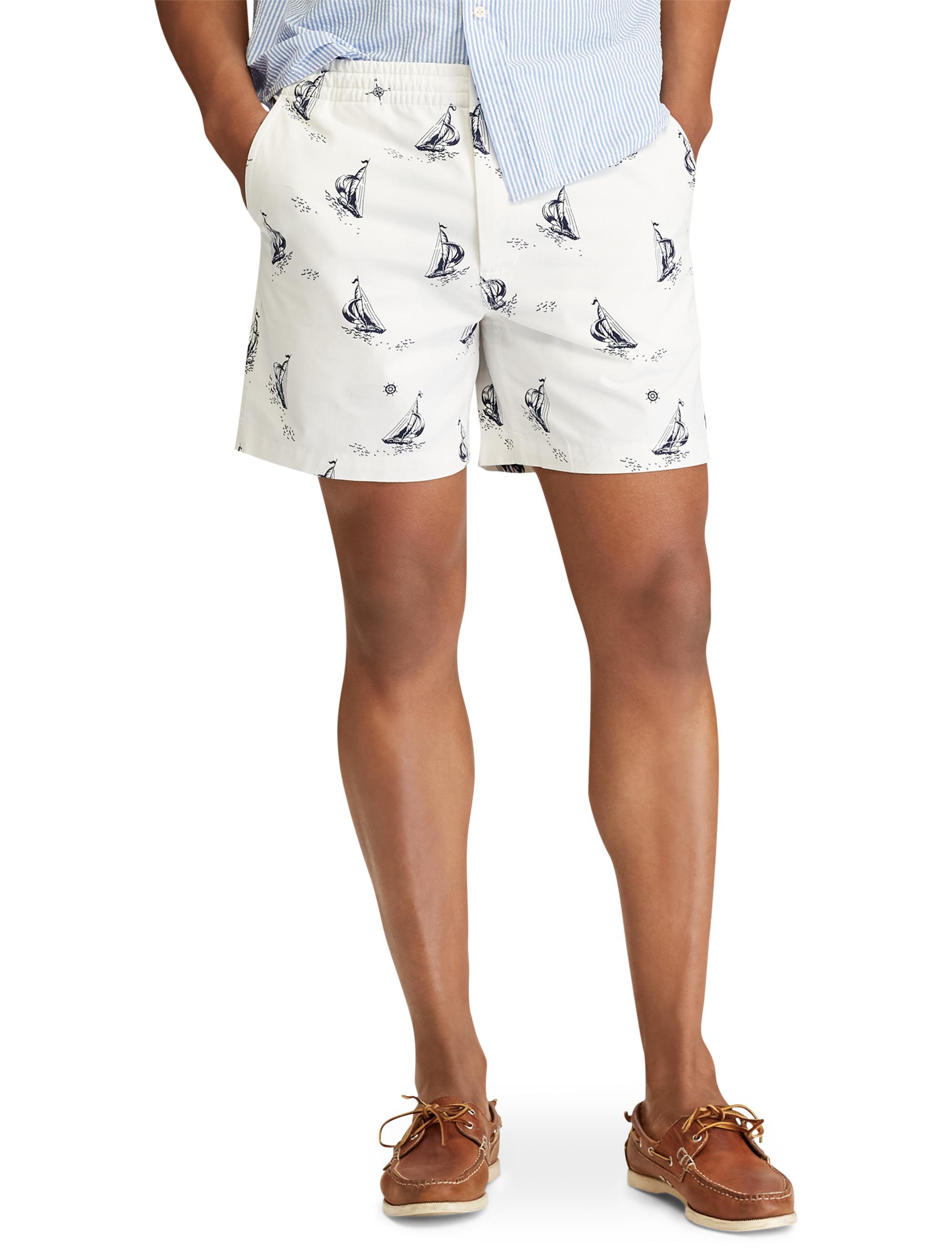 85641b4427d Polo Ralph Lauren Classic-Fit Prepster Sailboat Shorts