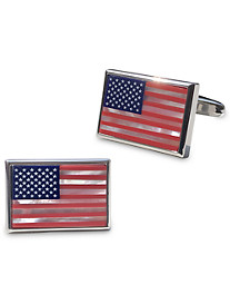 Link Up American Flag Cuff Links
