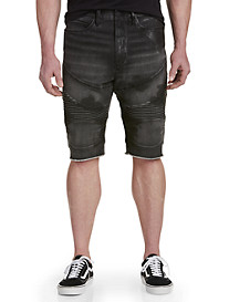 True Religion Geno Moto-Inspired Shorts