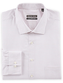 Geoffrey Beene Medium Tattersall Dress Shirt