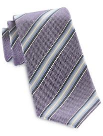 Jack Victor® Textured Multi Stripe Silk Tie