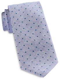Jack Victor Textured Cube Neat Silk Tie