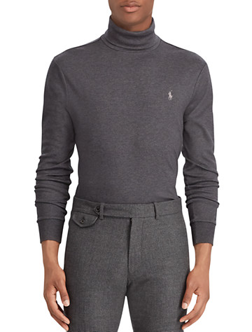 Polo Ralph Lauren® Soft-Touch Cotton Turtleneck - ( Long Sleeve Knits )