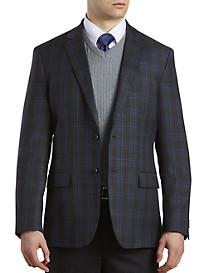 Daniel Hechter Windowpane Wool Sport Coat