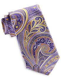 Geoffrey Beene® Swirly Pop Paisley Tie