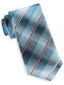 Geoffrey Beene® Ombré Stripe Plaid Tie