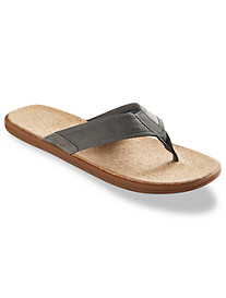 UGG® Seaside Leather Flip Flops