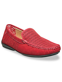 Stacy Adams® Cicero Perforated Moc Slip-Ons
