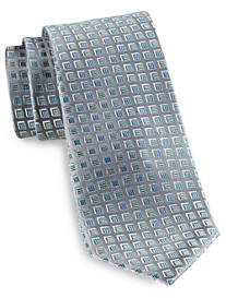 Geoffrey Beene® Dimensional Neat Silk Tie