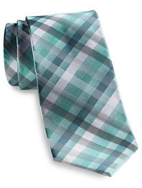 Geoffrey Beene® Gingham Current Silk Tie