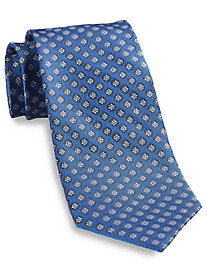 Gold Series Designed in Italy Floral Neat Silk Tie