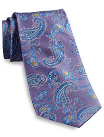 Gold Series Two-Tone Paisley Silk Tie