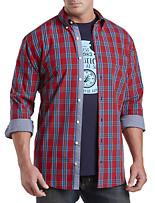 Nautica® Red Plaid Sport Shirt
