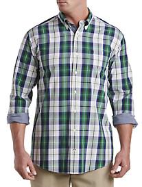 Nautica® Green Plaid Sport Shirt
