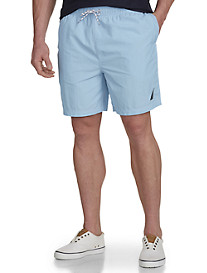 Nautica® Solid Swim Trunks