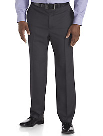 Andrew Fezza Neat Flat-Front Suit Pants
