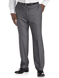 Andrew Fezza Neat Flat-Front Suit Pants