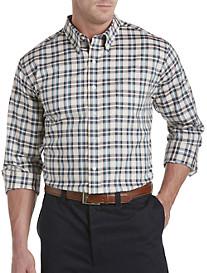 Oak Hill® Small Plaid Sport Shirt