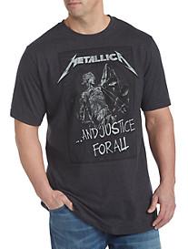 Metallica Justice Screen Tee