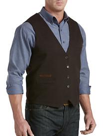 Oak Hill® Reversible Check Vest