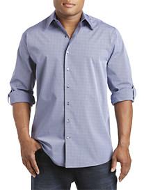 Synrgy™ Roll-Sleeve Stripe Sport Shirt
