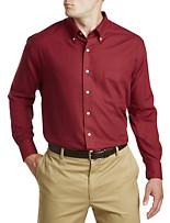 Oak Hill® Solid Heathered Sport Shirt