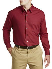 Oak Hill® Solid Heathered Sport Shirt