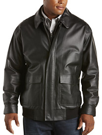 Synrgy® Leather Bomber