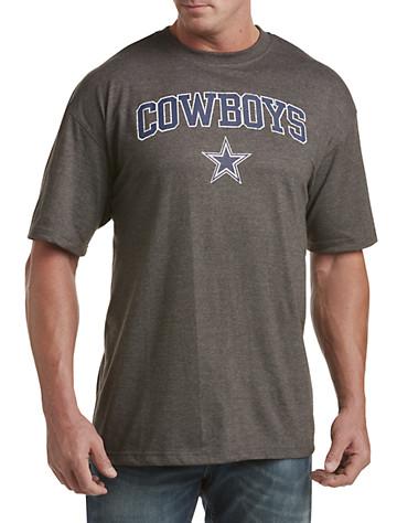 Big & Tall NFL Dallas Cowboys Heather Tee