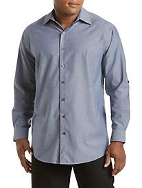 True Nation® Roll-Sleeve Sport Shirt