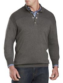 Synrgy® Snap Mockneck Sweater