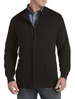 Synrgy® Solid Zip-Front Cardigan