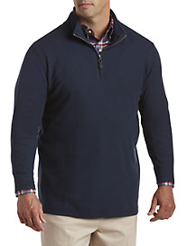 Oak Hill® Performance Mockneck Pullover