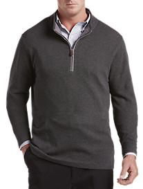 Oak Hill® 1/4-Zip Birdseye Pullover