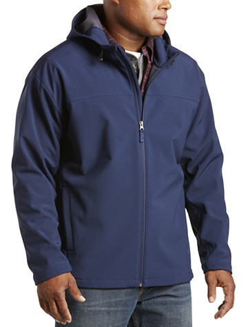 Harbor Bay® Hooded Bonded Fleece Jacket
