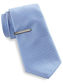 Gold Series Criss-Cross Grid Tie with Tie Bar