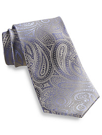 Synrgy™ Large Dot Paisley Silk Tie