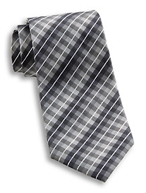 Synrgy™ Gingham Plaid Silk Tie