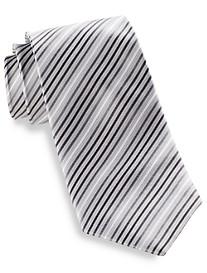 Synrgy™ Skinny Stripe Silk Tie
